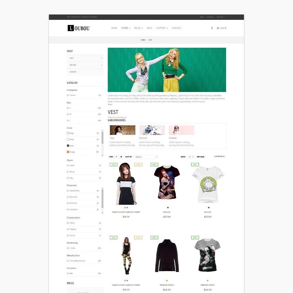 theme - Fashion & Shoes - Leo Loubou - 2