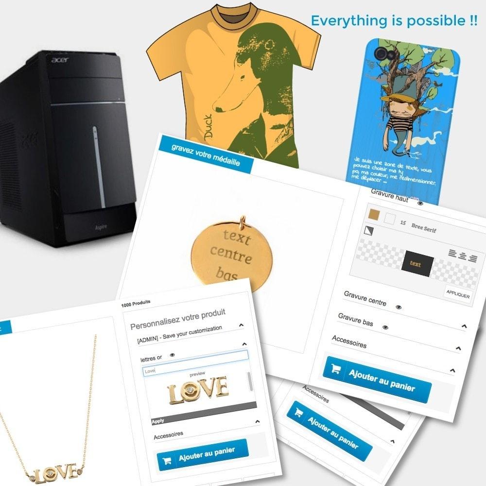 module - Combinazioni & Personalizzazione Prodotti - Product options and customization - 1