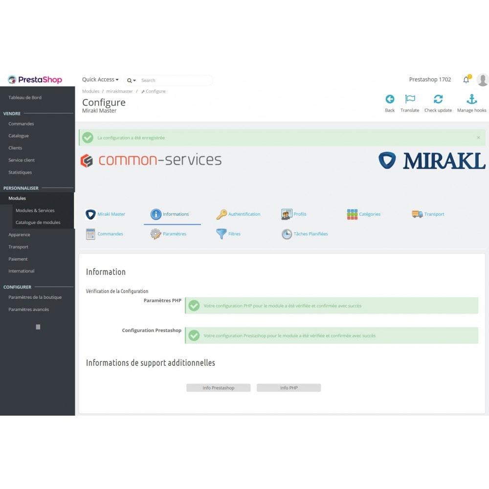 module - Marketplaces - Mirakl - Connecteur multi-marketplaces - 1