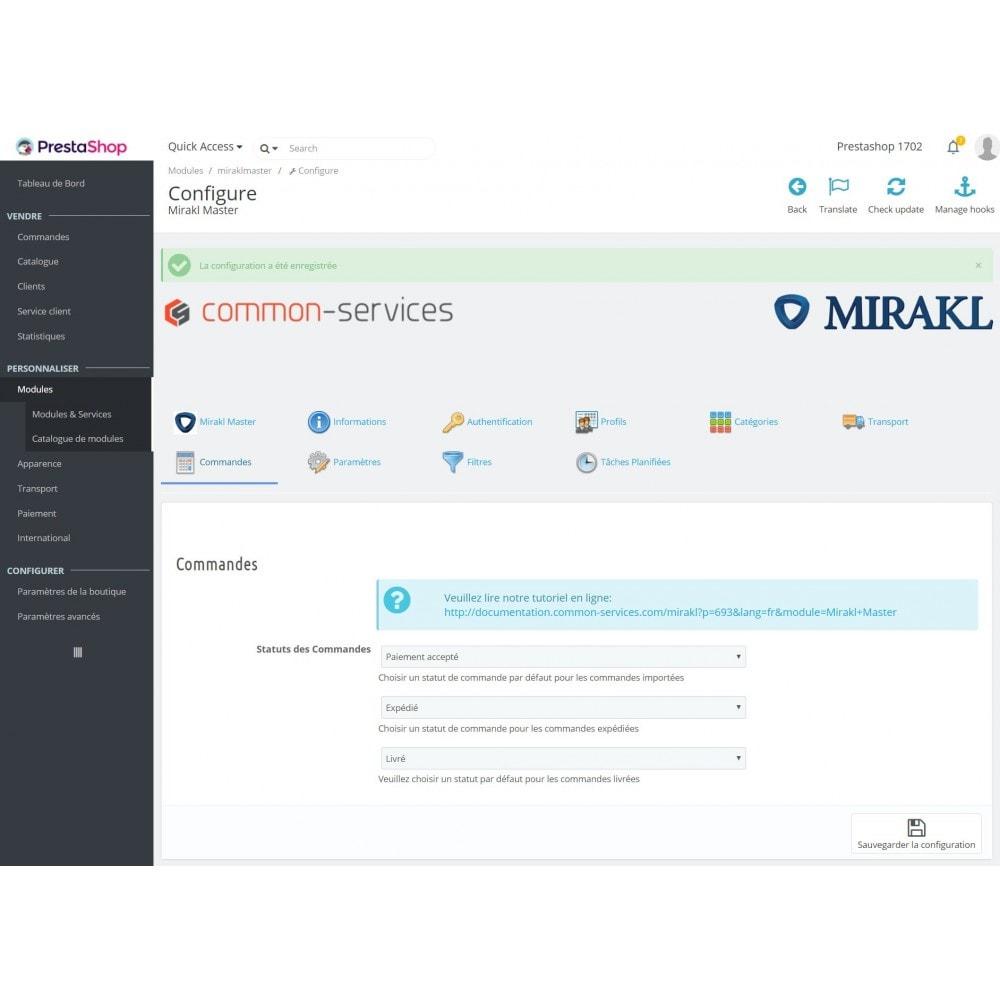 module - Marketplaces - Mirakl - Connecteur multi-marketplaces - 3
