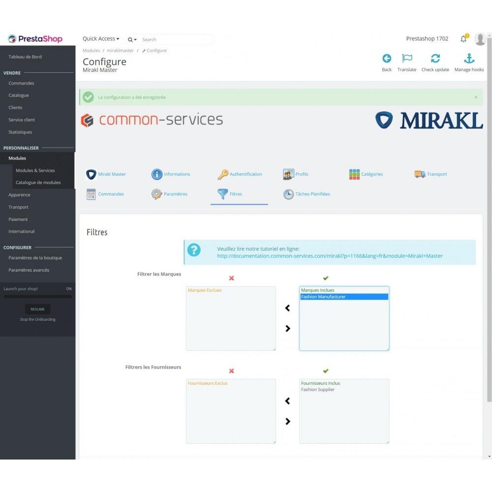 module - Marketplaces - Mirakl - Connecteur multi-marketplaces - 4