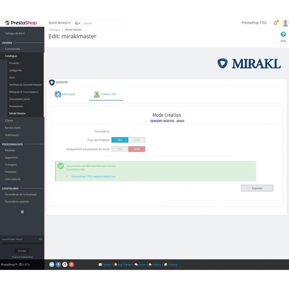 module - Marketplaces - Mirakl - Connecteur multi-marketplaces - 8