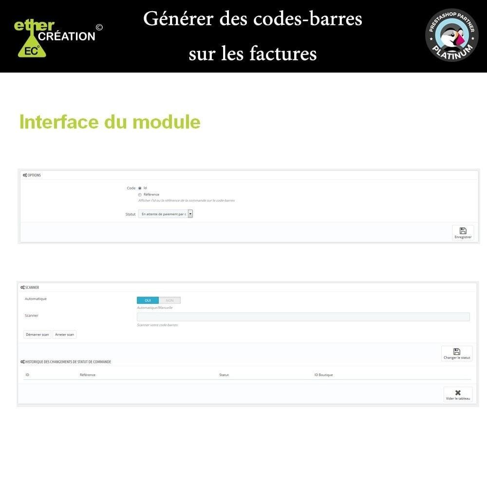 module - Preparazione & Spedizione - Barcode generator on bills - 1