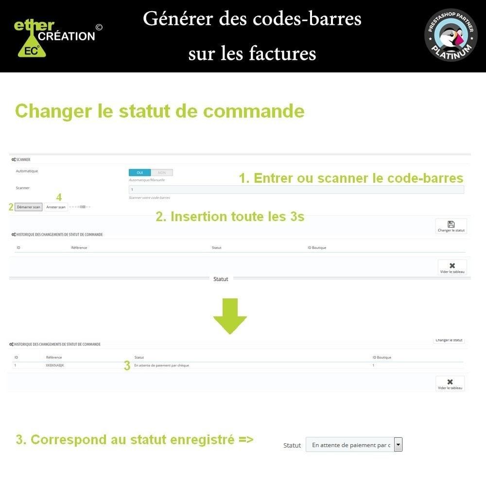 module - Voorbereiding & Verzending - Barcode generator on bills - 2