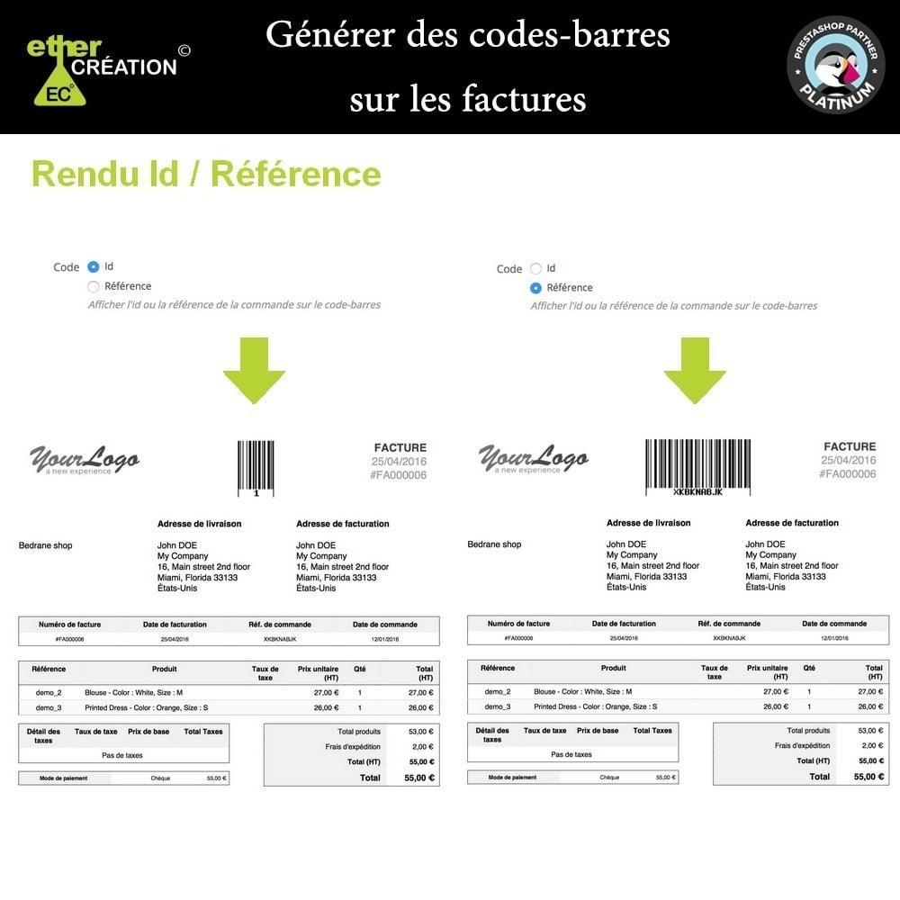 module - Voorbereiding & Verzending - Barcode generator on bills - 3