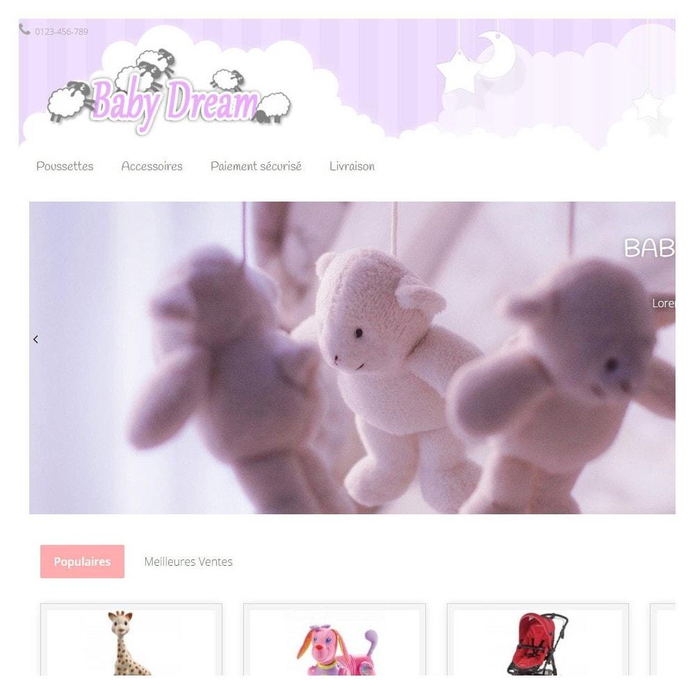 theme - Enfants & Jouets - Baby Dream ( puériculture ) - 4