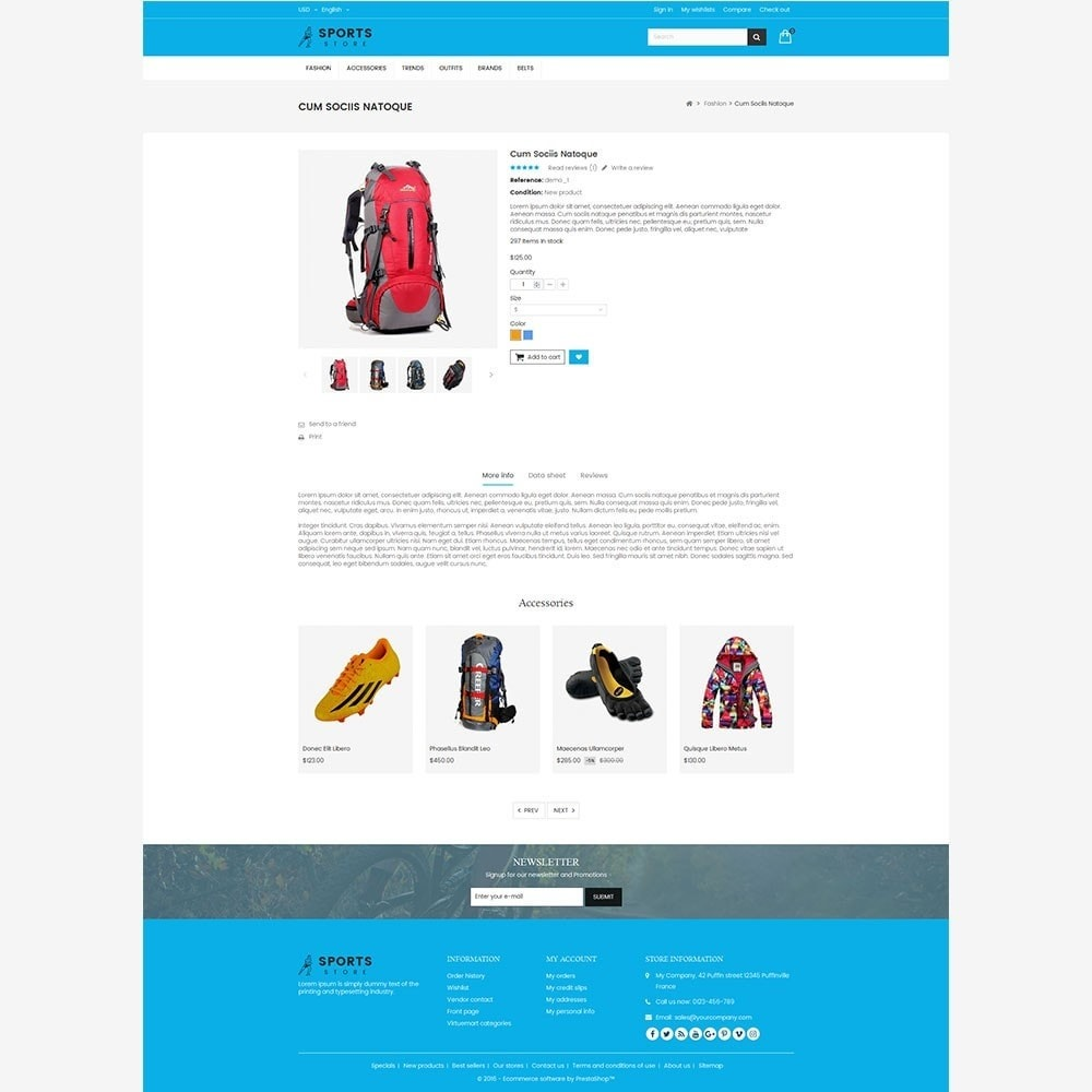 theme - Sports, Activities & Travel - Sports Store - 7