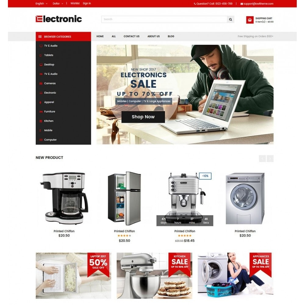 theme - Elektronika & High Tech - Electronics Store - 2