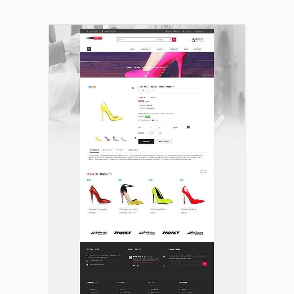 theme - Fashion & Shoes - Leo High Heels - 3