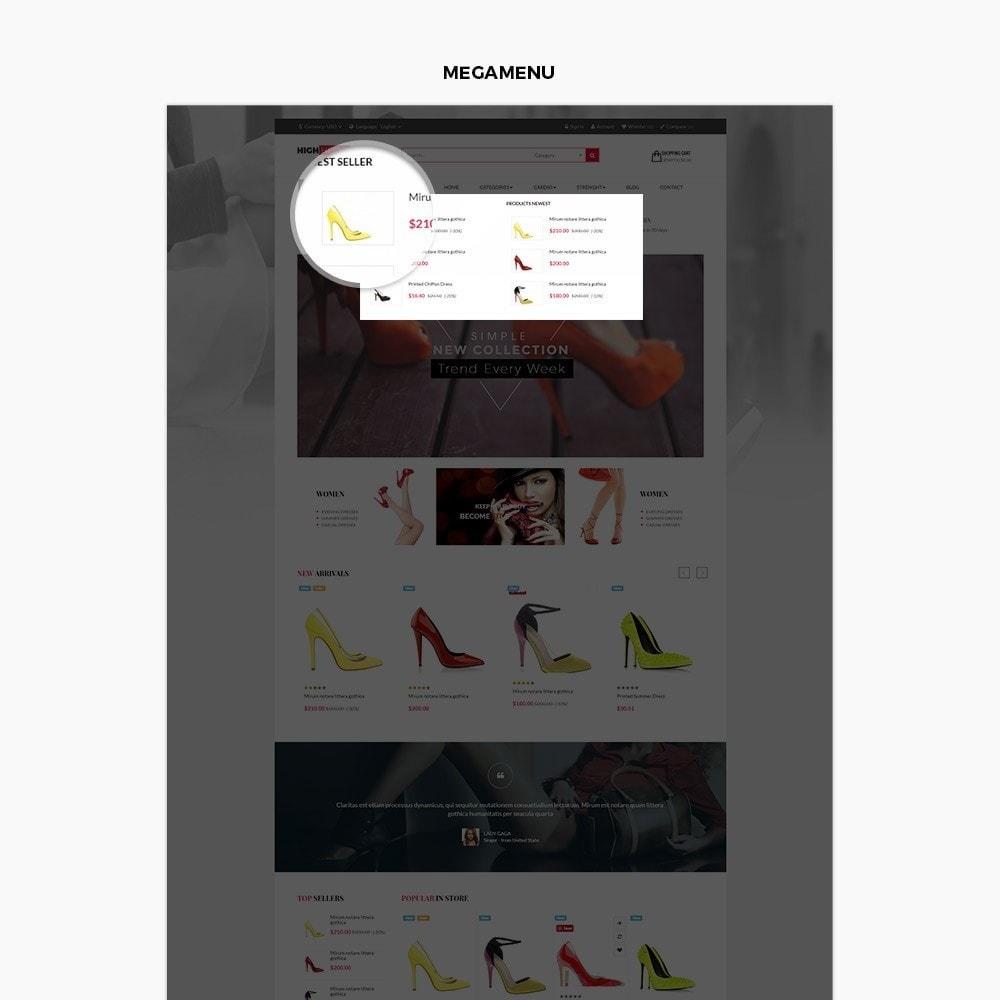 theme - Fashion & Shoes - Leo High Heels - 4