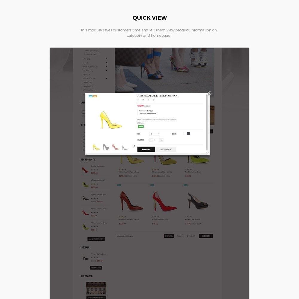 theme - Fashion & Shoes - Leo High Heels - 5