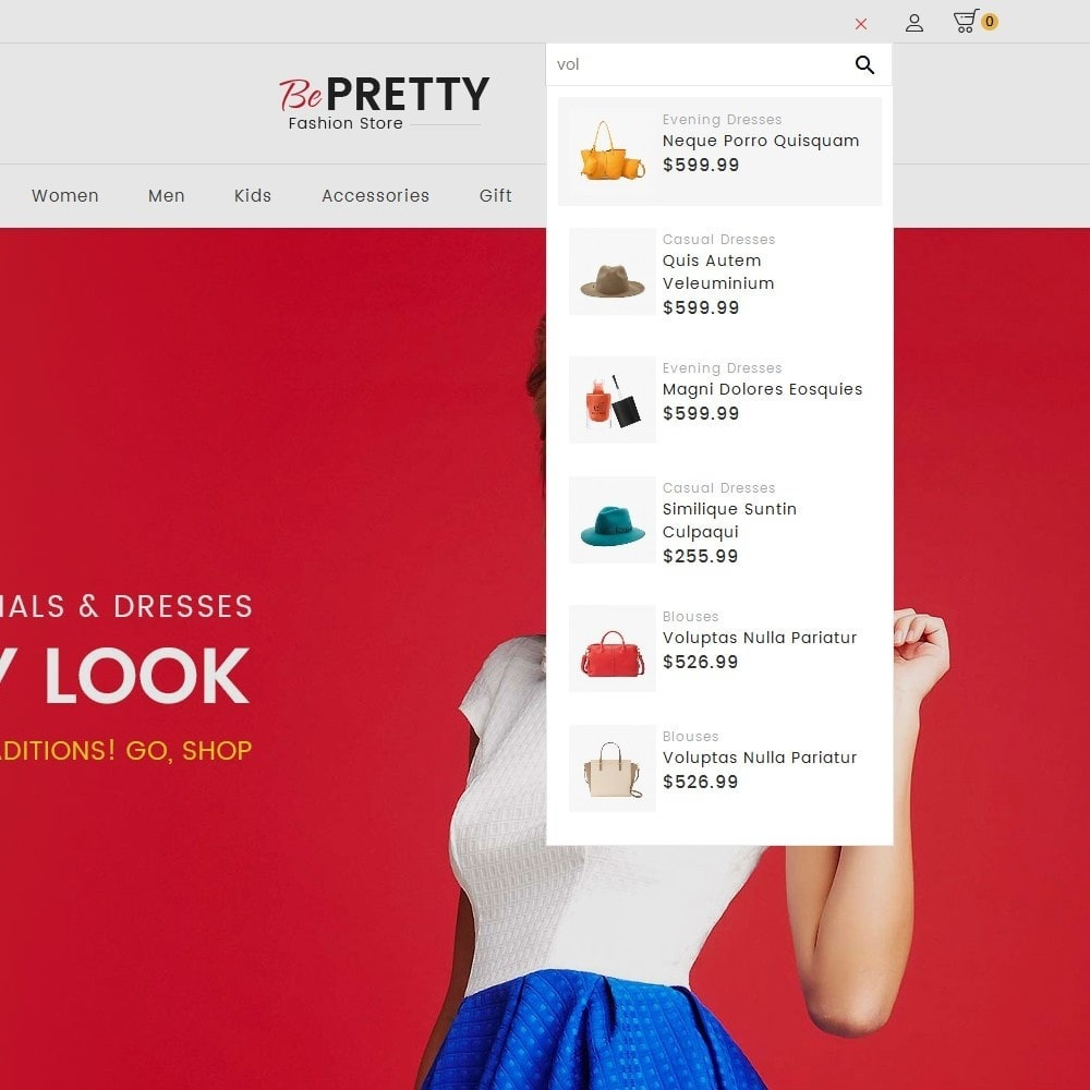 theme - Мода и обувь - BePretty Fashion Store - 11