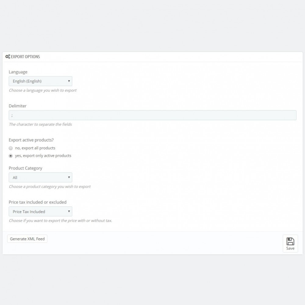 module - Marktplaats (marketplaces) - Marktplaats.nl Connector - XML-feed Product - 3