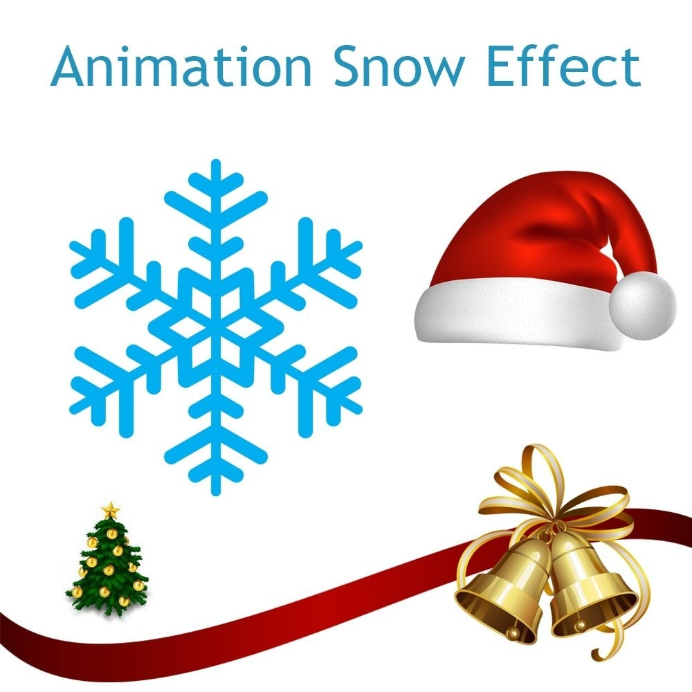 module - Personnalisation de Page - Animation Snow Effect - 1
