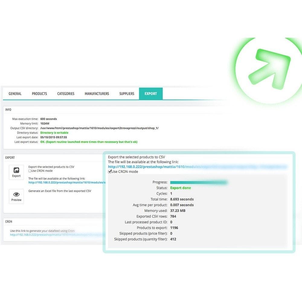 module - Porównywarki cen - Bizrate - Export + Advanced Filters - 7