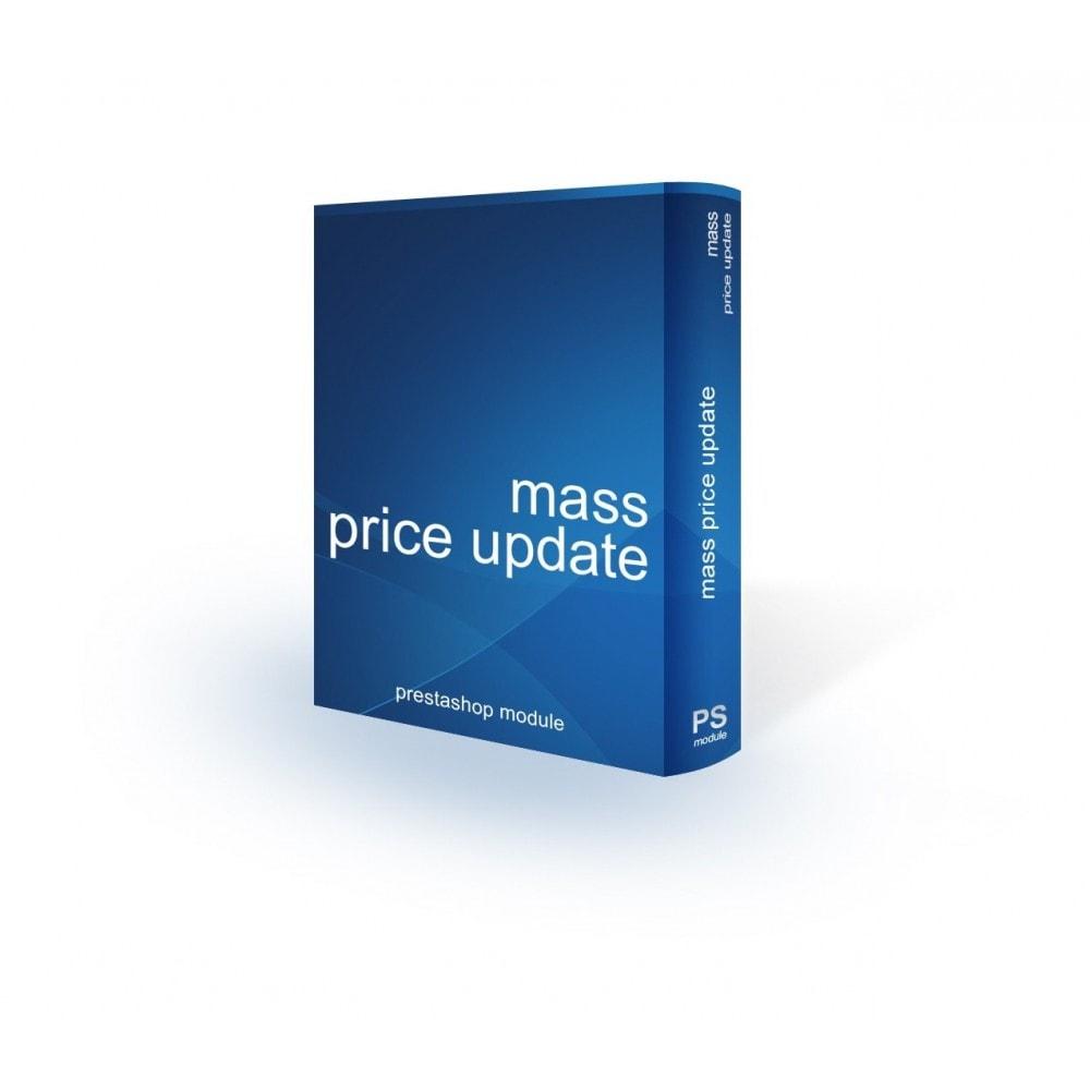 module - Fast & Mass Update - Mass/bulk price update - 1