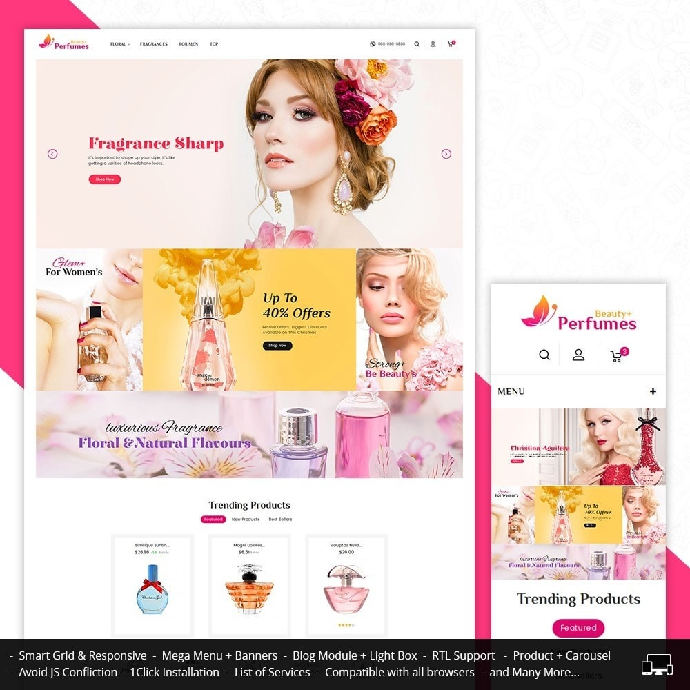theme - Salud y Belleza - Beauty Perfume Store - 1