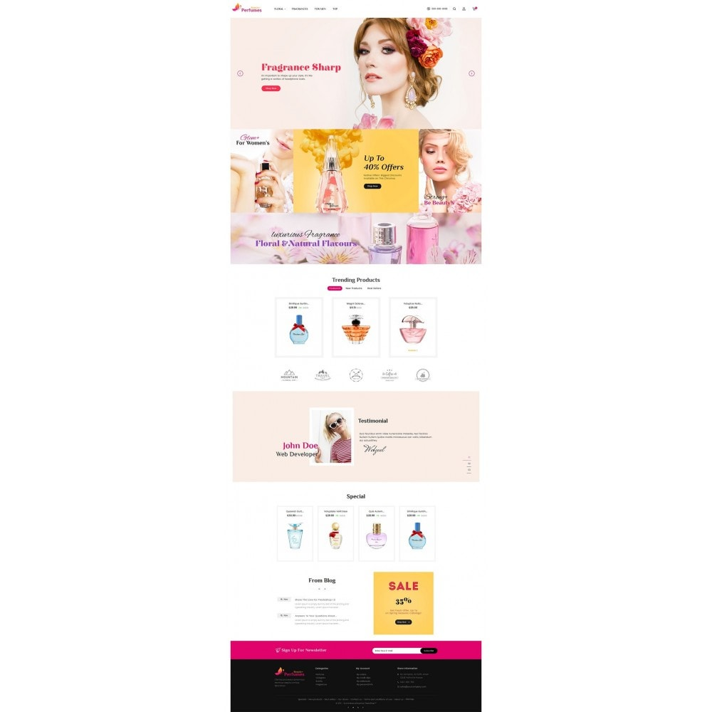 theme - Здоровье и красота - Beauty Perfume Store - 2