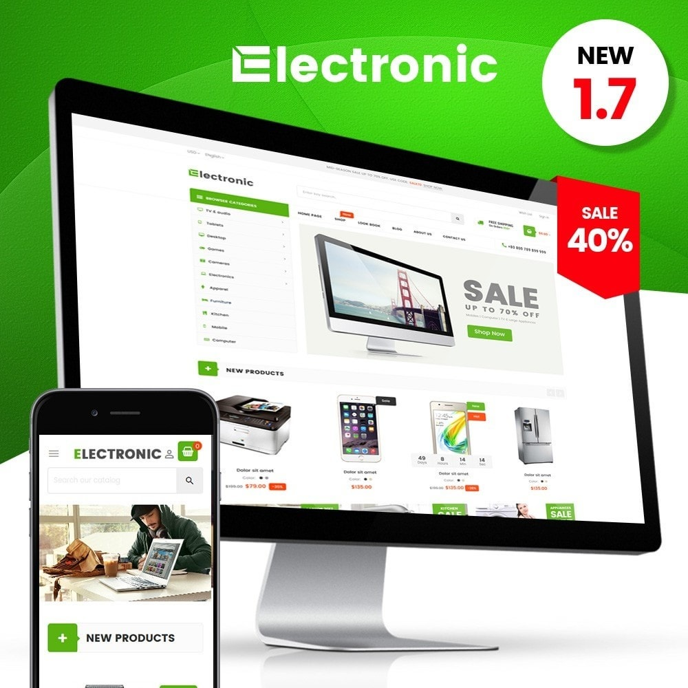 theme - Electronics & Computers - Electronic Supermarket - 1
