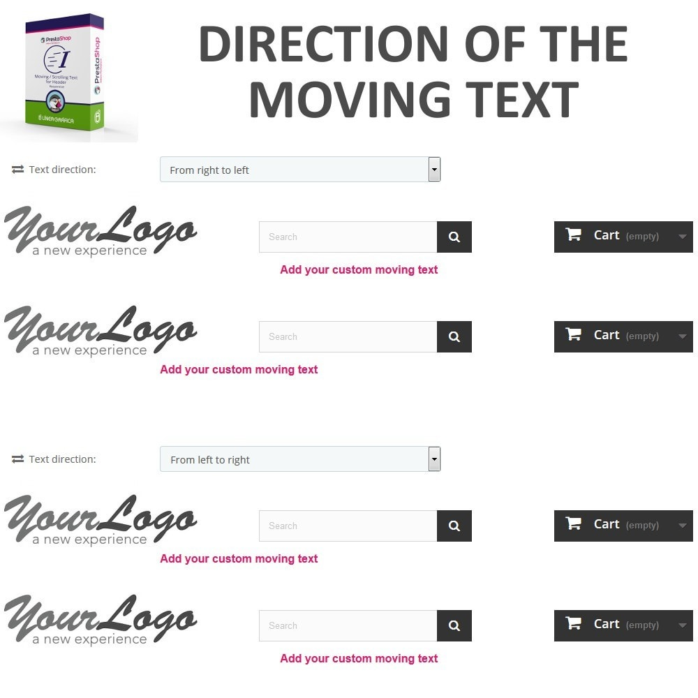 module - Blocks, Tabs & Banners - Moving / Scrolling Text for Header - 4