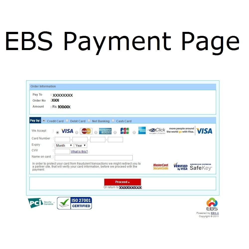 module - Paiement par Carte ou Wallet - EBS Payment Gateway India - 3