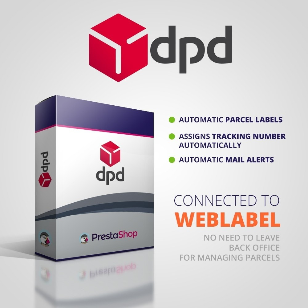 module - Shipping Carriers - DPD Hungary Integration - 1