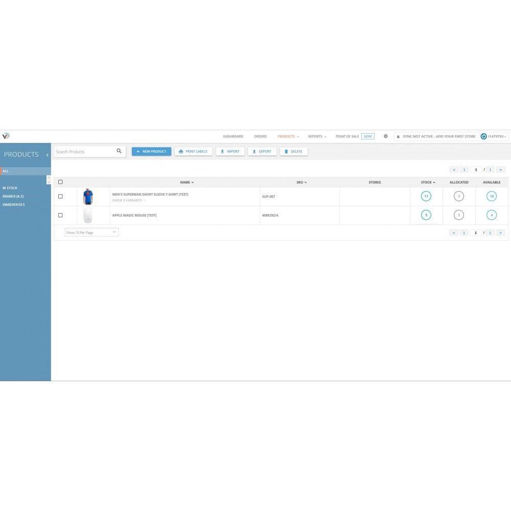 module - Estoques & Fornecedores - Veeqo Integrator - 3