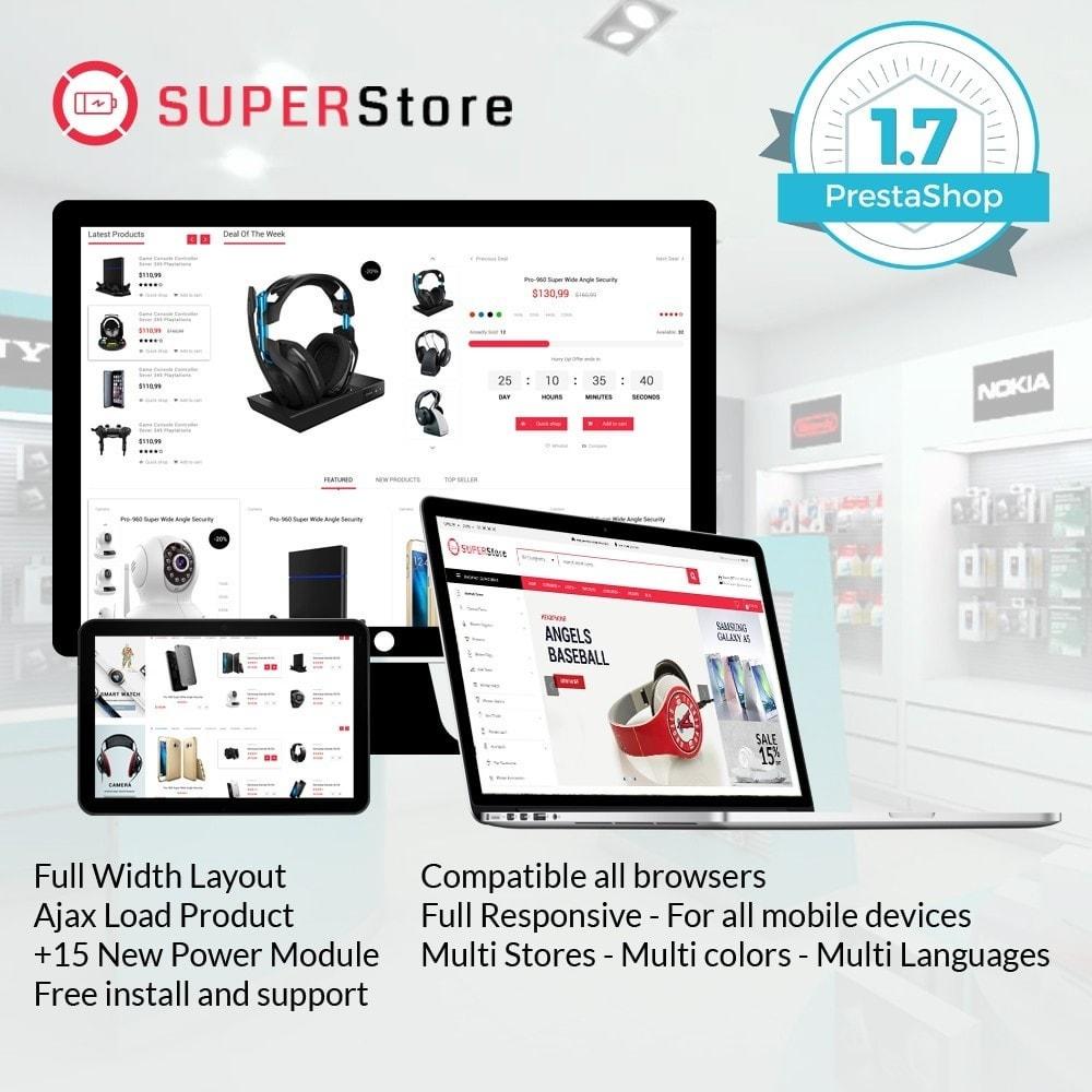 theme - Electrónica e High Tech - Super Store Electronic - 1
