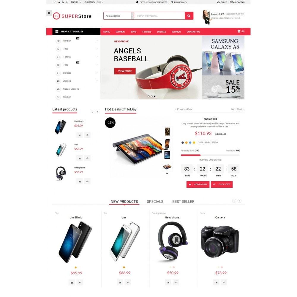 theme - Electrónica e High Tech - Super Store Electronic - 2
