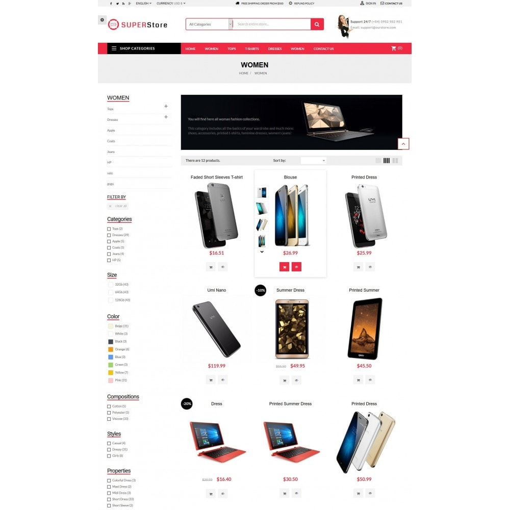 theme - Electrónica e High Tech - Super Store Electronic - 4