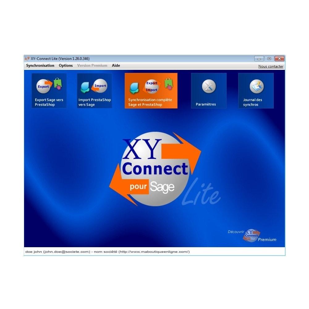 module - Conexão com software de terceiros (CRM, ERP...) - XY-Connect Lite orders - Sage 100 - 1