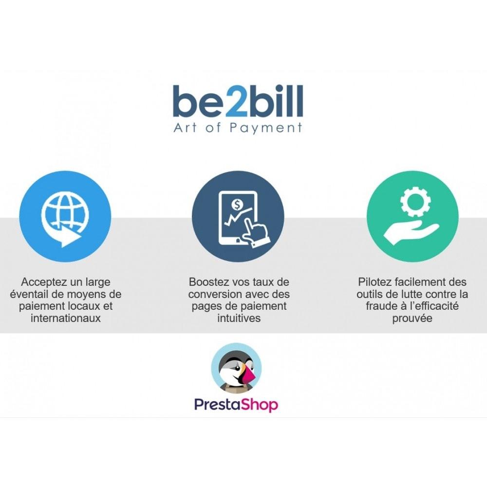 module - Paiement par Carte ou Wallet - Be2bill - Le service de paiement orienté CONVERSION - 1