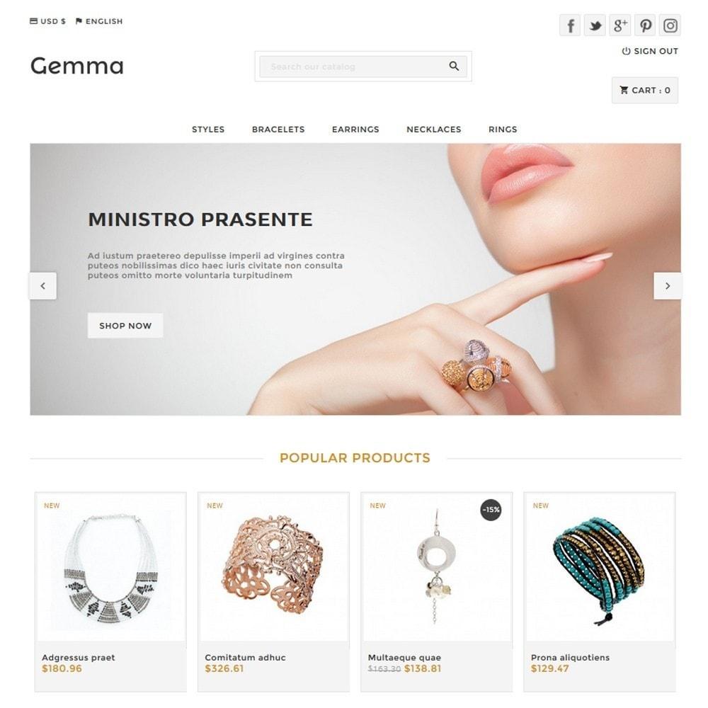 theme - Bellezza & Gioielli - Gemma - 1