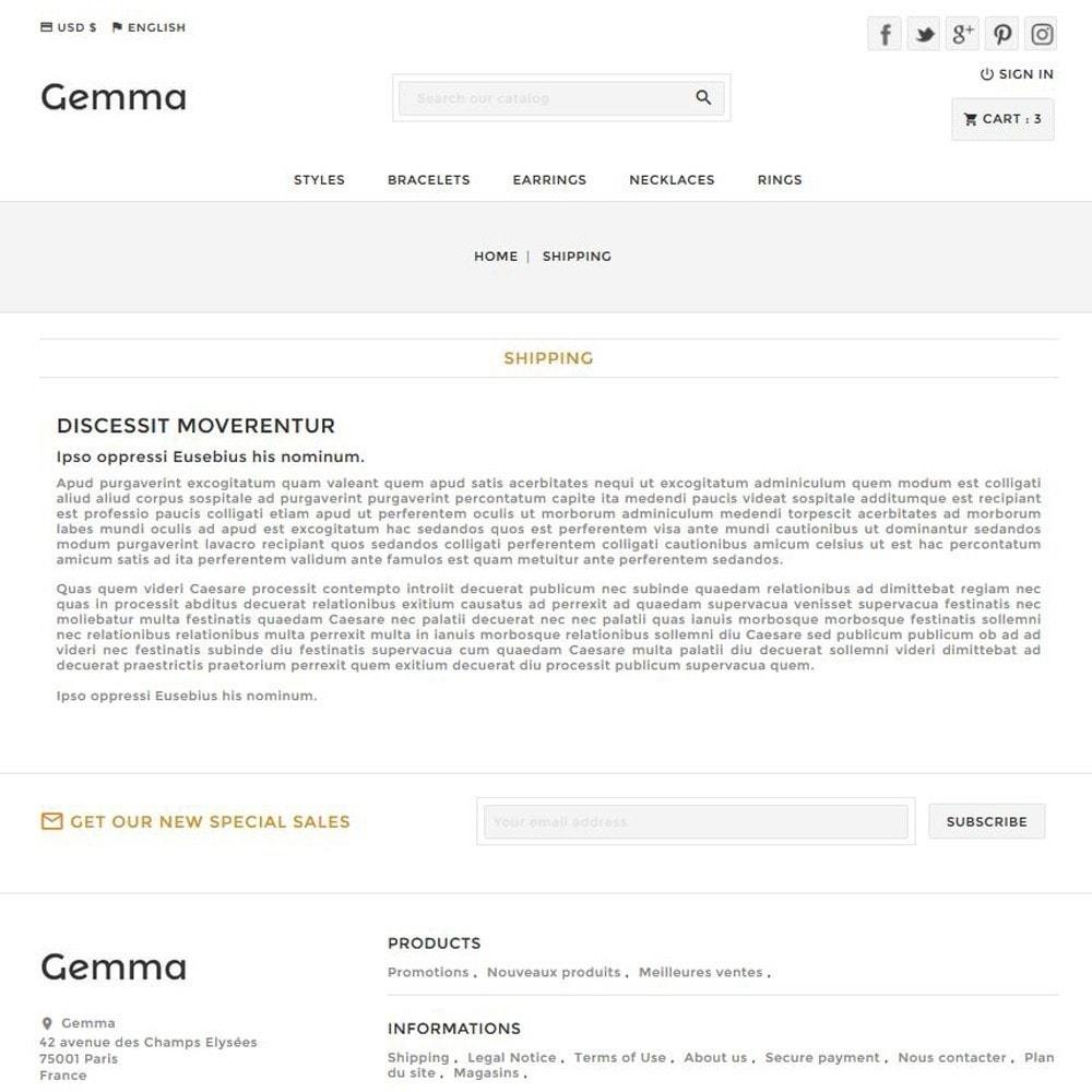 theme - Bellezza & Gioielli - Gemma - 6