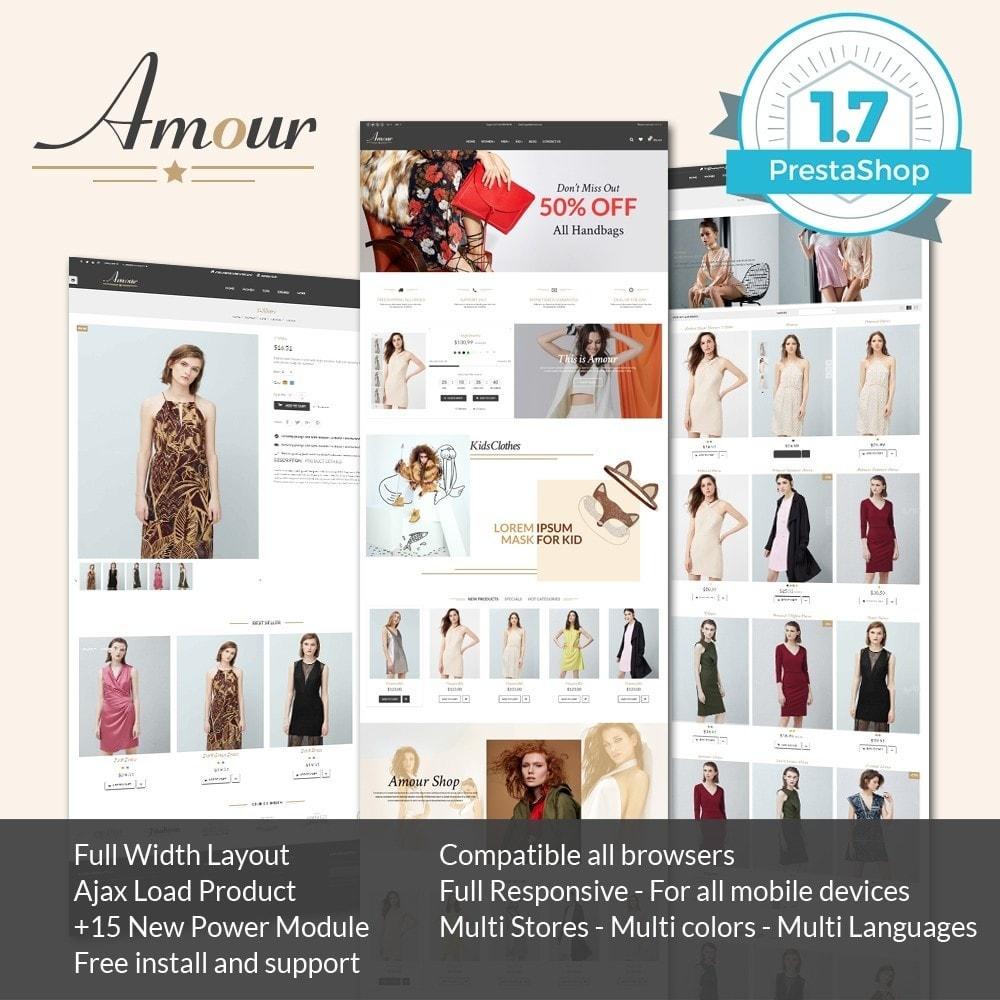 theme - Mode & Chaussures - Amour Fashion Store - 1