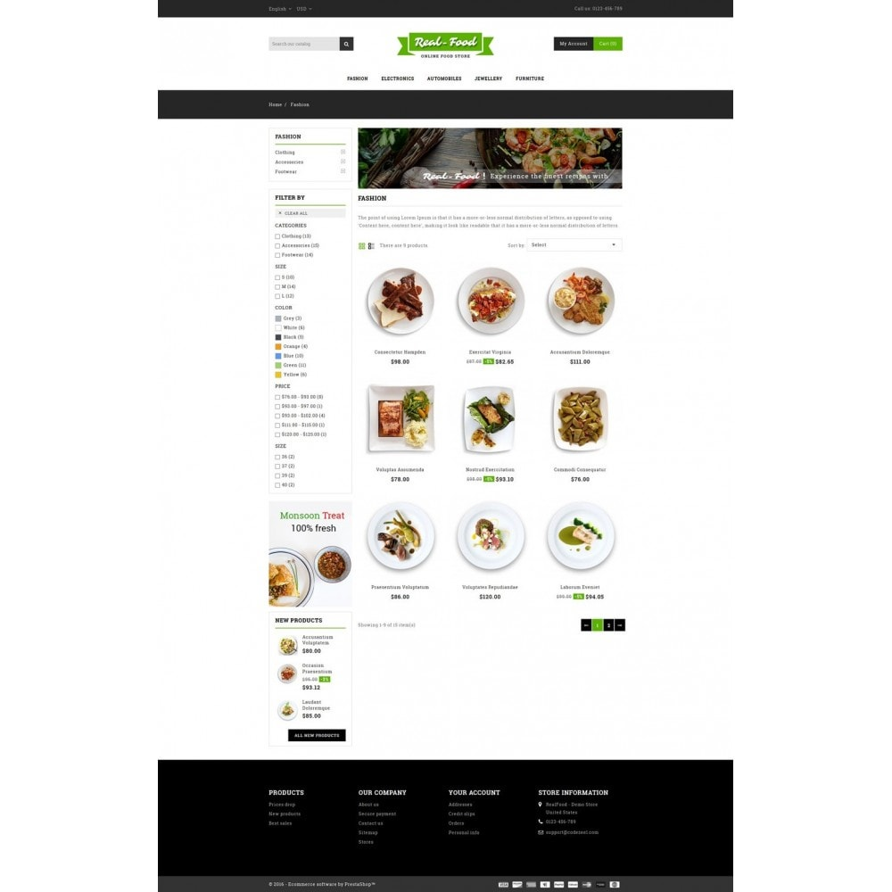 theme - Alimentos & Restaurantes - Best Real Food Store - 3