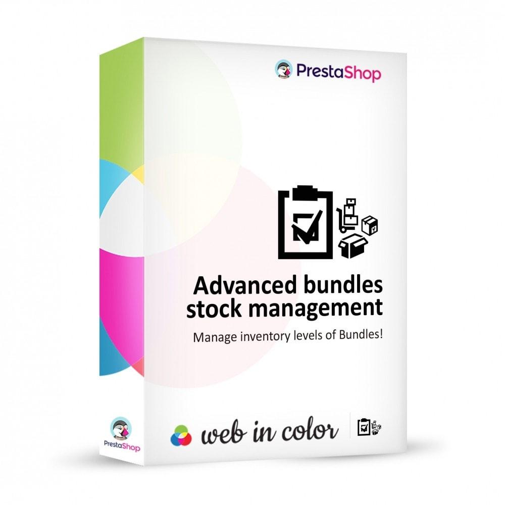 module - Zarządzanie zapasami &  Dostawcy - Advanced Bundles Stocks - 1