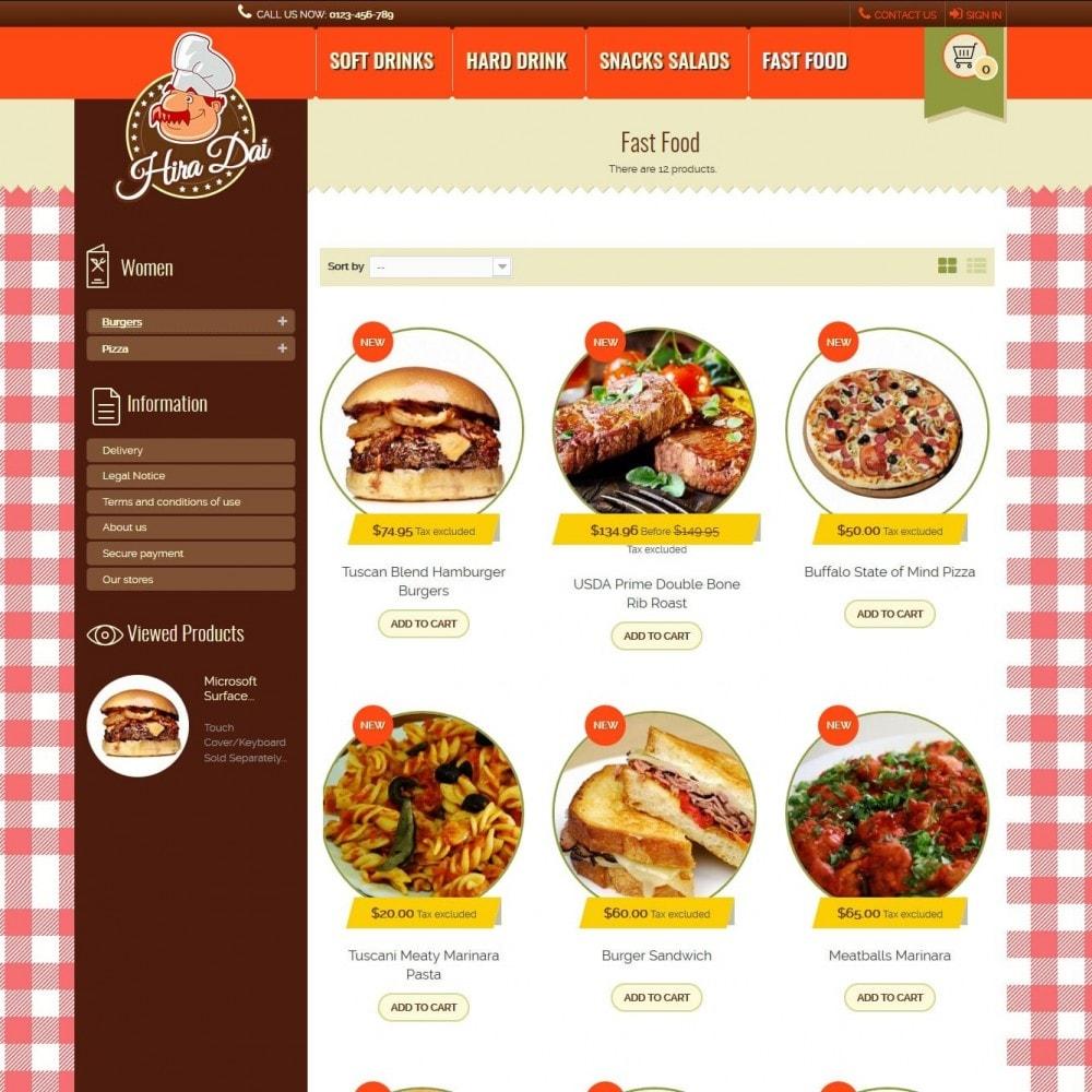 theme - Alimentos & Restaurantes - hiradai - 3