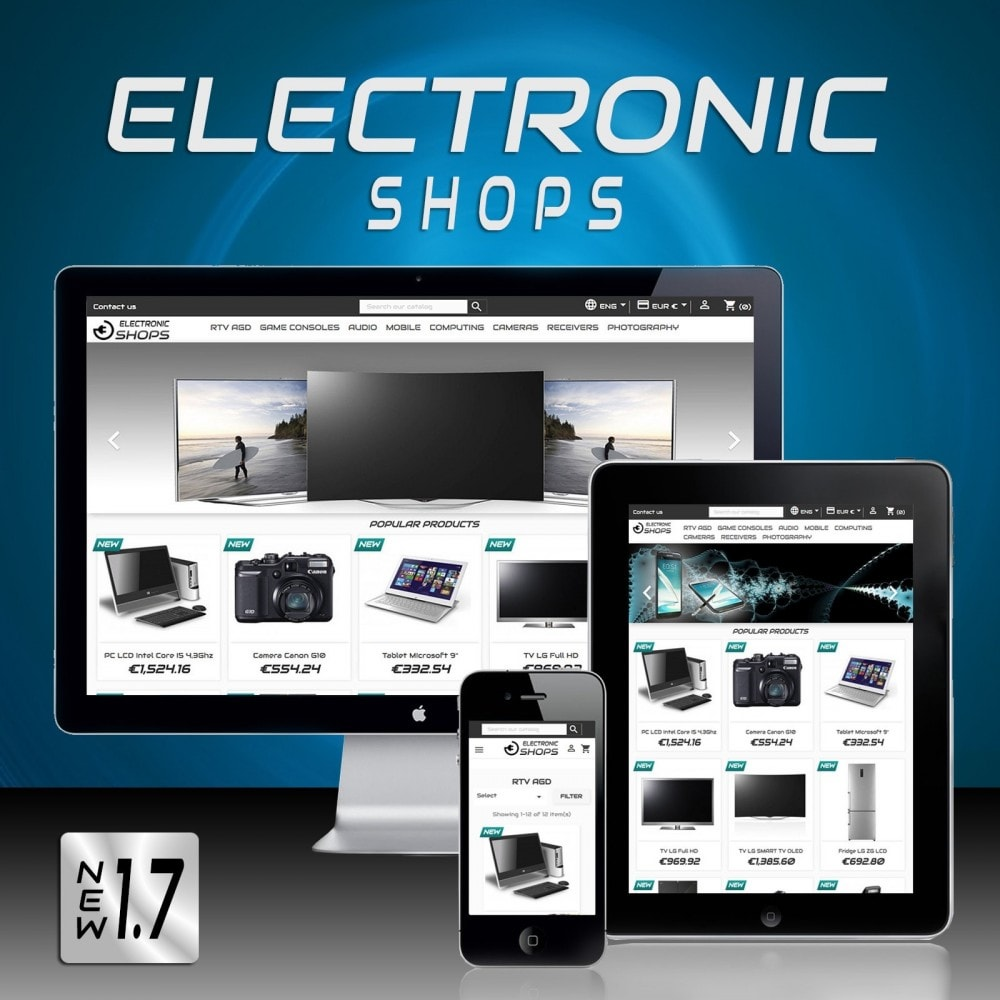 theme - Elektronika & High Tech - Sklepy Elektroniczne - 2