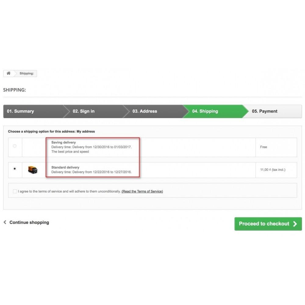 module - Data di Consegna - Smart Date Of Delivery - 4
