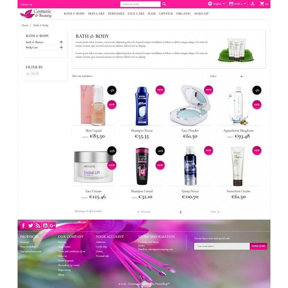 theme - Saúde & Beleza - Cosmetics & Beauty - 4
