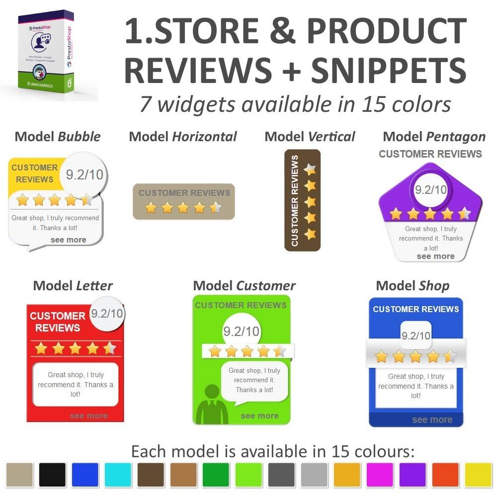 bundle - Klantbeoordelingen - Trust Pack - Reassure your Customers - 3-Module - 3