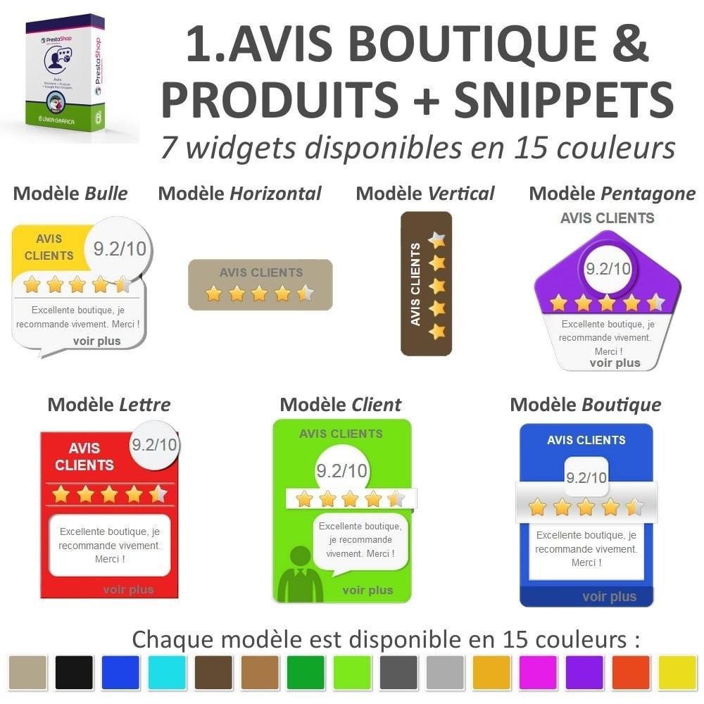 bundle - Avis clients - Confiance - Rassurez vos Clients - 3 Modules - 3