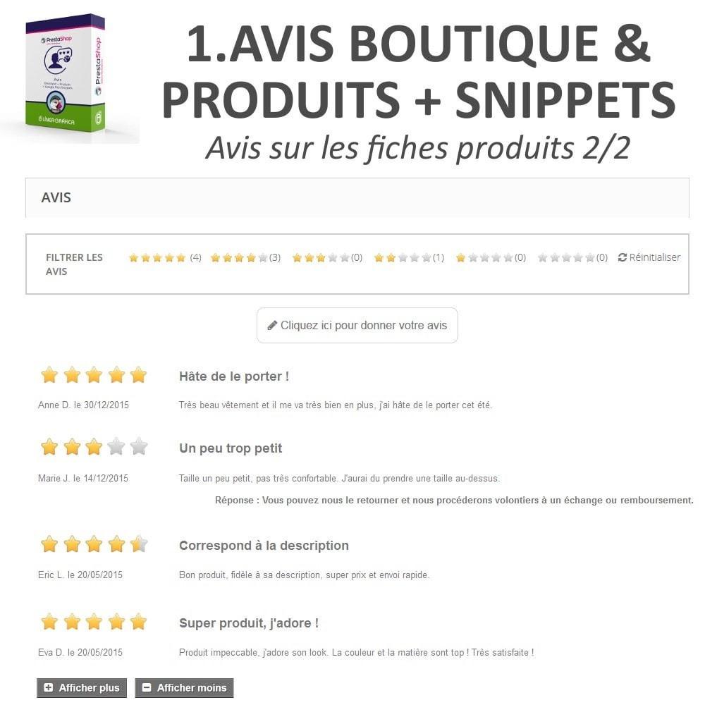bundle - Avis clients - Confiance - Rassurez vos Clients - 3 Modules - 7