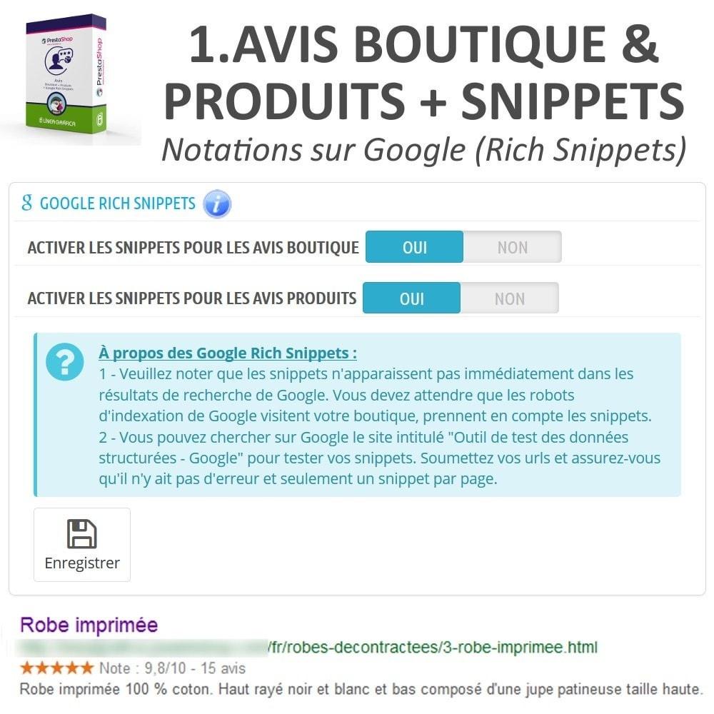 bundle - Avis clients - Confiance - Rassurez vos Clients - 3 Modules - 8