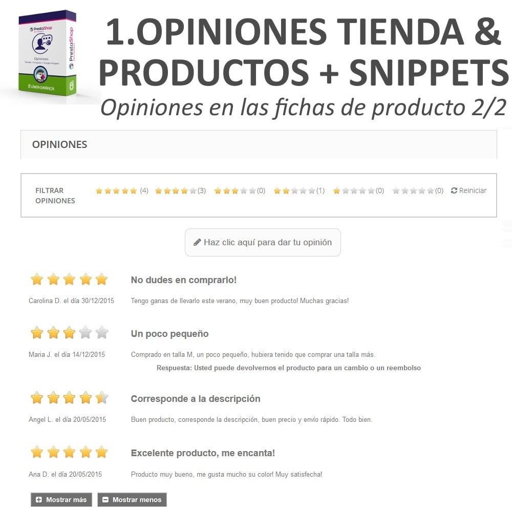 bundle - Comentarios de clientes - Confianza - Tranquiliza a tus Clientes - 3 Módulos - 7