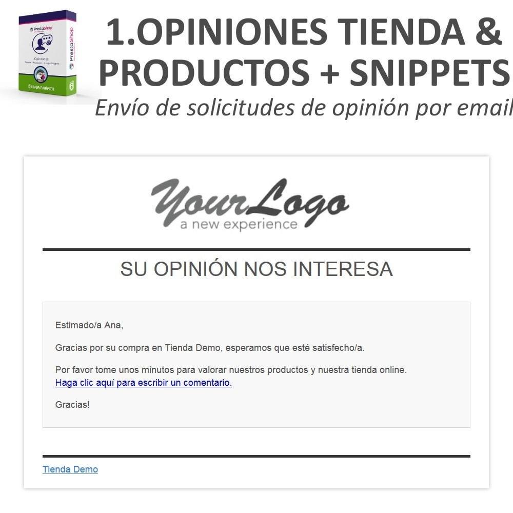bundle - Comentarios de clientes - Confianza - Tranquiliza a tus Clientes - 3 Módulos - 9