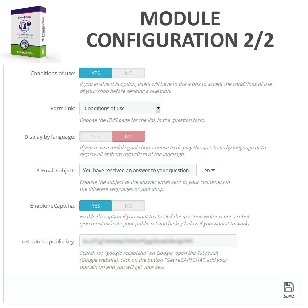module - FAQ (Veelgestelde vragen) - FAQ Product Sheets - Frequently asked questions - 3