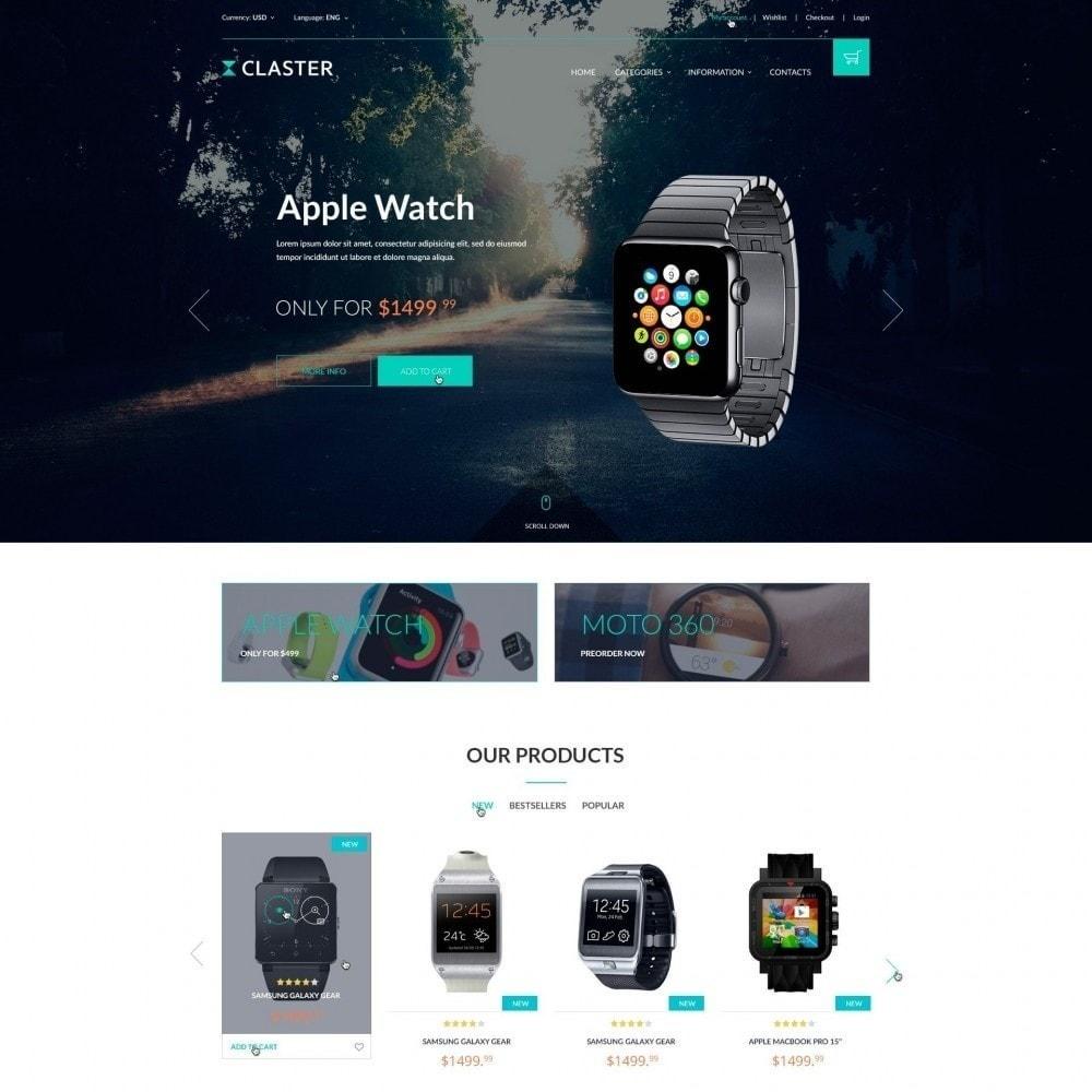theme - Elektronica & High Tech - Claster - Horloges Shop - 2