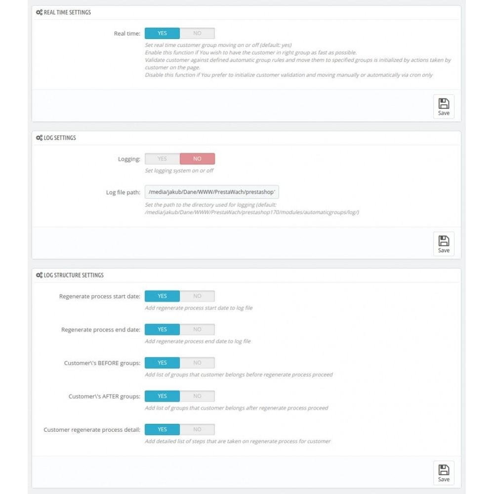 module - Administração dos Clientes - AutomaticGroups - 1
